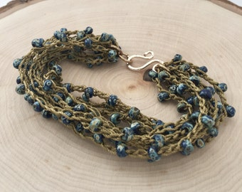 Deep Sea Boho Beach Bracelet