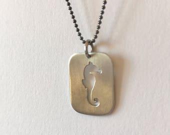 Seahorse Pendant-Seahorse Jewelry