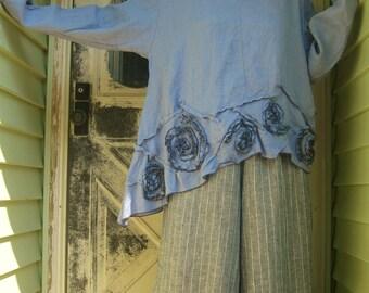 Swirly Slant Shirt