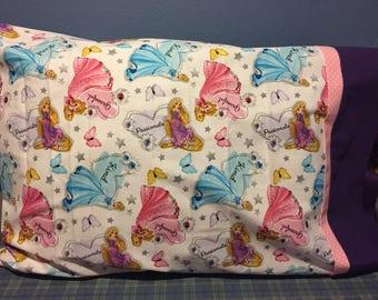 Disney Princesses Pillowcase- Cinderella and Sleeping Beauty