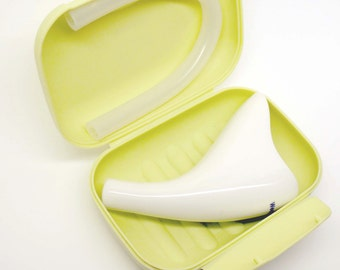 Weepee Porcelain (Package) - An elegant female portable urinal