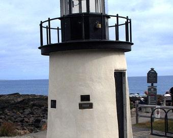 Lobster Light, Ogunquit, Maine, Marginal Way, Rocks, Coast, Seashore, Fine Art Photo, Wall Art