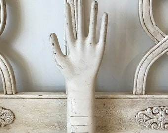 Vintage  Hand  Form Mannequin  Hand  Glove display