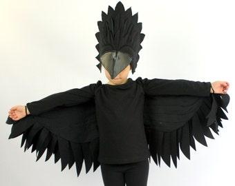 The Raven - Handmade Children's Costume