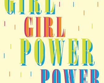 Printable Girl Power Print