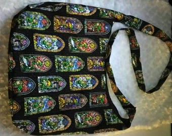 Zelda mosaic purse