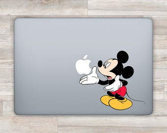 Disney MacBook Decal Mickey Mouse MacBook Sticker Disney Laptop Decal Laptop Sticker Apple Decal MacBook Air 13 11 MacBook Pro 2016  bn1308