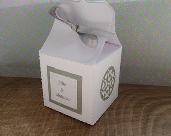 Box dragees custom
