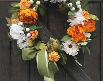 Autumn Splendor Door Wreath
