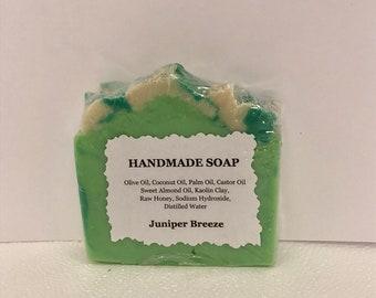 Juniper Breeze,Soap,Organic Soap,All Natural Soap,Facial Soap,Baby Soap,Oatmeal Soap,Olive Oil Soap,Designer Soap,Custom Soap