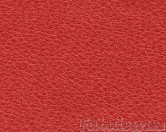 Tomato Red Upholstery Ford Vinyl fabric per yard