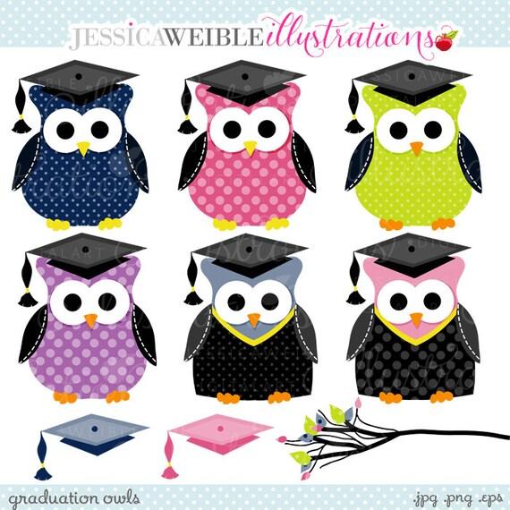 Graduation Owls Cute Clipart Graduation Clip art Graduation