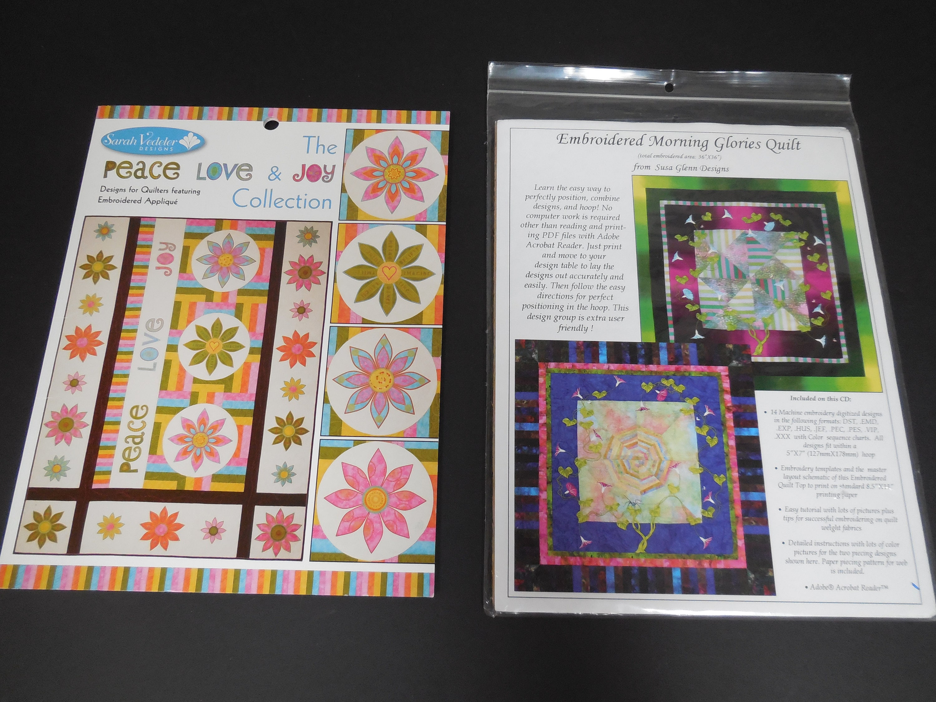 Embroidery Design Cds And Patterns For Quilts
