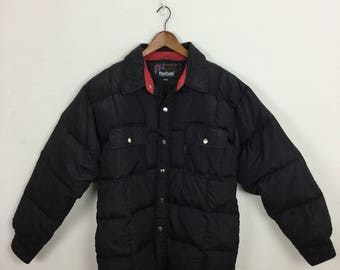 Vintage 90s Penfield Puffer Jacket Puffy Winter Size L
