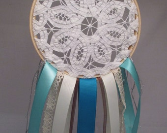 "5"" Clouded Teal Dream Catcher"