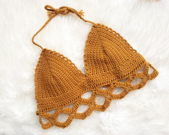 The Colette Bralette Pattern Crochet Bralette Pattern