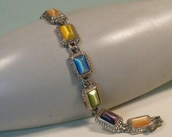 Premiere designs multi stone link bracelet