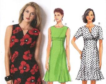 BUTTERICK 6015 sewing pattern. Dress pattern.  Size 16-18-20-22-24.  New.  Uncut.  Factory folded.
