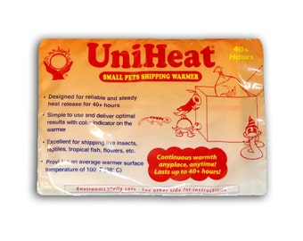 Heating pack for shipping