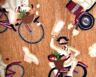Chef on Bicycle Child Size Apron