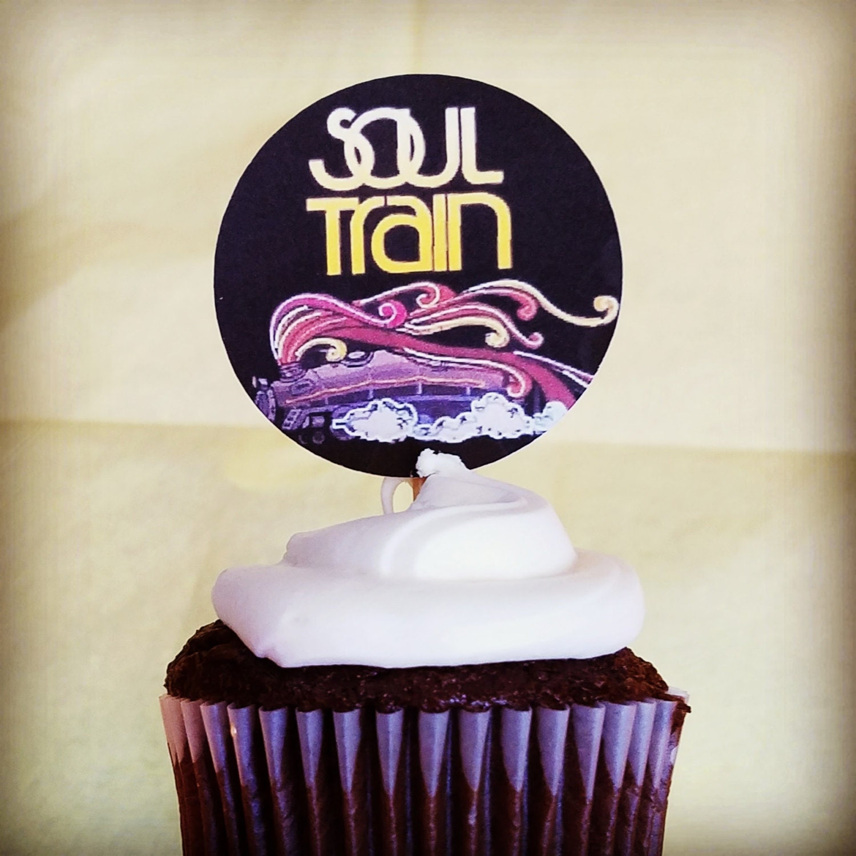 Soul Train Party Soul Train Cupcake Toppers Soul Train Party