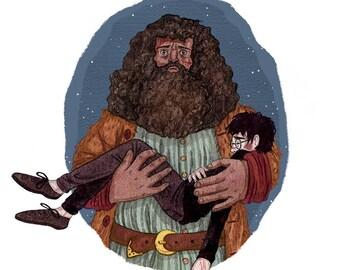 Giclee print - Yer a wizard Harry