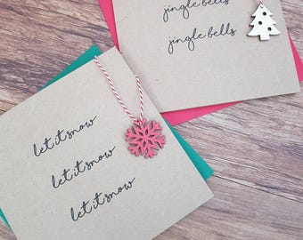 Christmas cards - 2 pack