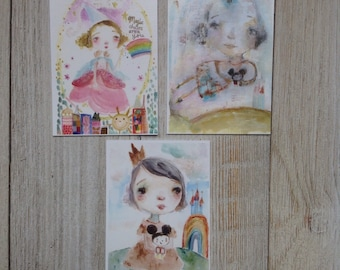 Aceo print set - best day