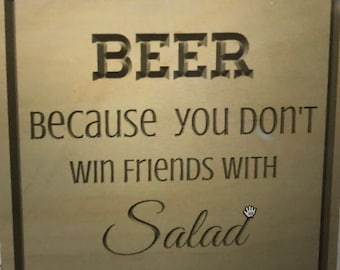 Funny Beer Sign