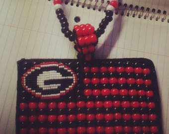 Dawg Nation bead necklace