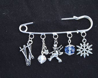 PIN color: Silver It's Winter time!