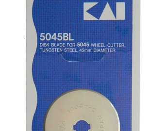 Kai Disk Blade for 5045 Wheel Cutter 45mm replacement blade for rotary cutter