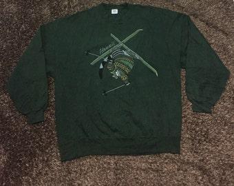 Vintage 90s bkliban crazyshirt sweatshirt/sweater nice design
