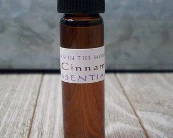 Cinnamon Essential Oil - 1/4 Ounce Cinnamonum Zeylanicum - DIY Supplies - Cinnamon Leaf Aromatherapy Diffuser Oil