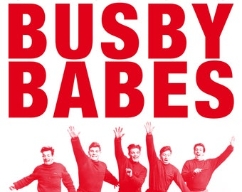 Manchester United Busby Babes Poster