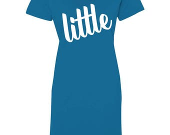 grand petit sororité, gros petites chemises de sororité, grande petite chemise de sommeil, grand, petit, grand, dissimulation, gros petits cadeaux, cadeau de gage, révéler