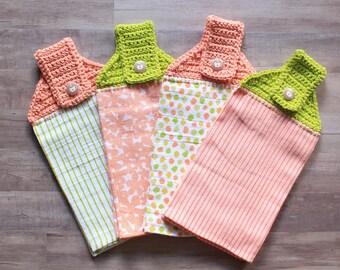 Crochet Kitchen Tea Towels