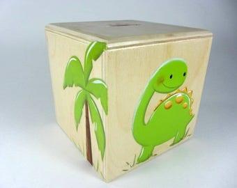 Dinosaur, piggy bank, gift, baby
