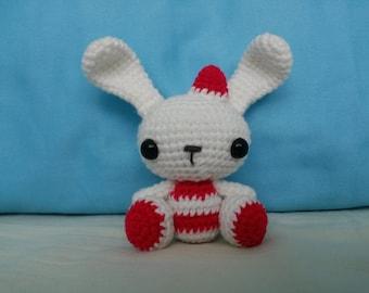 Snowy the Bunny - Toy Amigurumi -READY TO SHIP