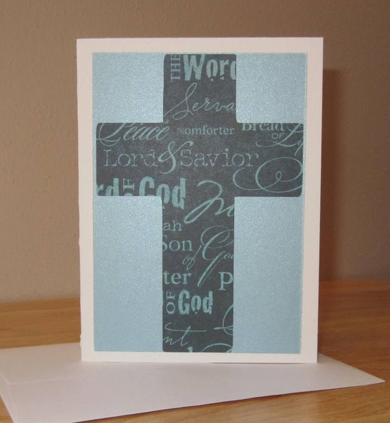 Easter card religious gift easter cross card easter easter card religious gift easter cross card easter holiday card easter catholic homemade easter card easter greeting card negle Image collections
