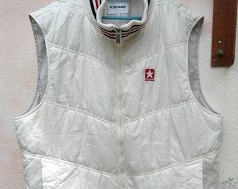 Vintage 90s Converse Sleeveless Jacket Nylon Sport