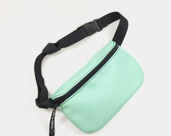 Bum Bag, Green Fanny pack , Eco friendly gifts ,handmade belly bag, cute fanny pack, opal bag,waist bag ,turquoise bag ,belt bag, fanny pack