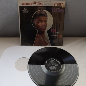 Mercury Records Peral Bailey Record Album For Adult Listening