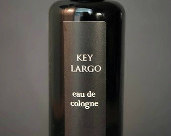 KEY LARGO Men's organic Cologne, Natural Cologne for Men, Men's natural Grooming, Men's Natural Fragrance