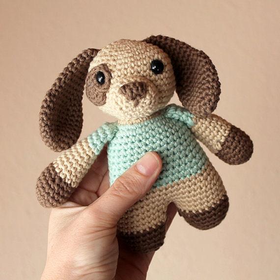 Dog - Animalius. Crochet Doll, Amigurumi Toy, Crocheting, Made to Order, Animal Crochet, Puppy, Cute Children Gift, Nursery Doll, Art Crafts