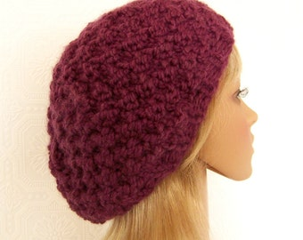 Knitting hat pattern - adult moss stitch hat