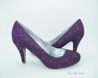 Purple wedding shoes | Etsy