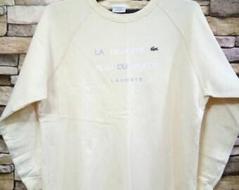 Lacoste Sport 80s 90s Vintage Lacoste Sport Sweatshirt Sweater