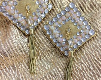Diamond Pasties! Burlesque, Showgirl costume, One of a Kind