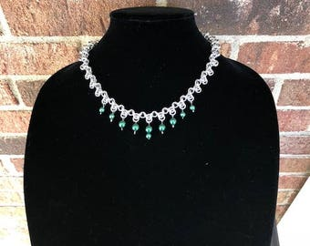 Arrowhead Chainmail Necklace